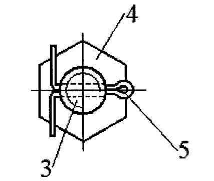 高速板链斗式提升机链轮轮缘固定装置