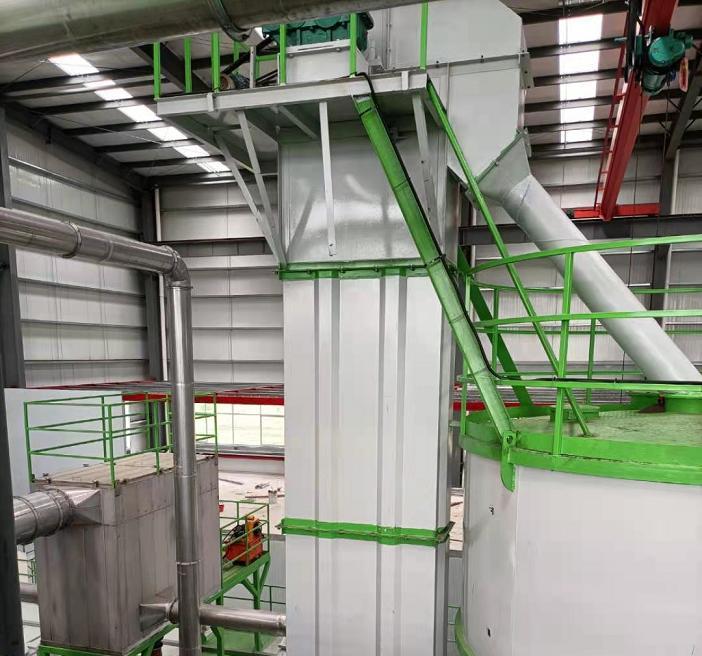 砂石厂专用水泥砂石提升机技术改进效果