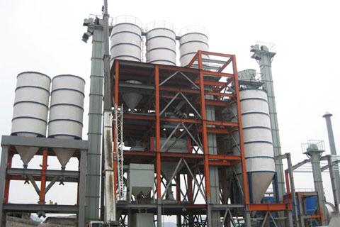 干粉砂浆生产线处理设备