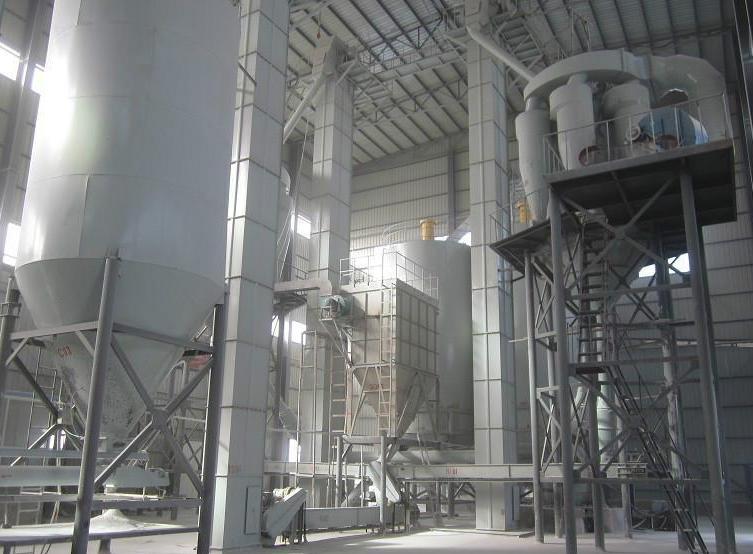 脱硫石膏、石膏粉生产线主要设备